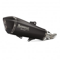 ESCAPE YAMAHA AKRAPOVIC X-MAX 400 BLACK ('18)