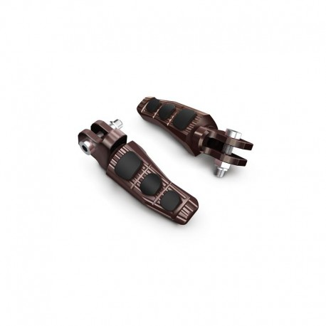 ESTRIBERAS PARA CONDUCTOR TOURING COLOR TECH BRONZE