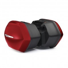 MALETA LATERAL TOURING 30L DERECHA COLOR LAVA RED